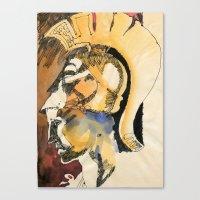 roman Canvas Prints featuring Roman by Ecsentrik