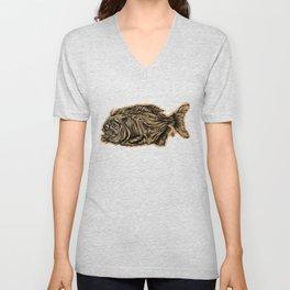Piranha Unisex V-Neck