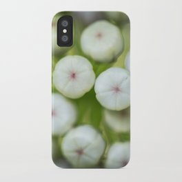 Wht-flowered Milkweed iPhone Case