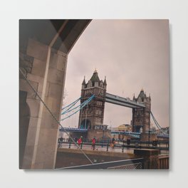 Tower Bridge as seen from the Tower of London Metal Print