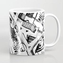 Waiting for Salvation - b&w Coffee Mug
