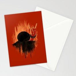 Rock Hard Snail Stationery Cards