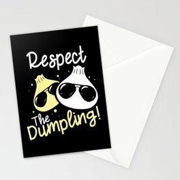 Cool Dumpling Shirt Motif Stationery Cards