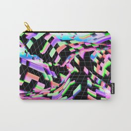abstract colorful 3d Carry-All Pouch