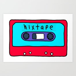 BTS J-hope's Mixtape Art Print
