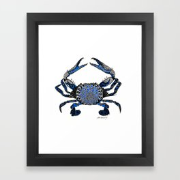 Ol' Blue Framed Art Print