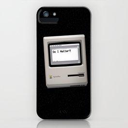 midnight introspection iPhone Case