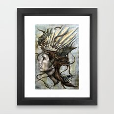 Daedalus' Daughter Framed Art Print