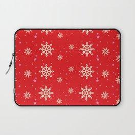 xmas snowflakes Laptop Sleeve