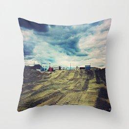 Ominous Skies Throw Pillow