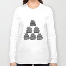 Cake and Flowers Long Sleeve T-shirt