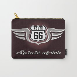 Winged Spirit of Route 66 Carry-All Pouch