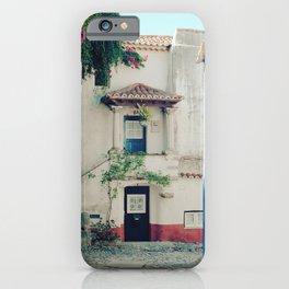 Portugal, Obidos (RR 183) Analog 6x6 odak Ektar 100 iPhone Case