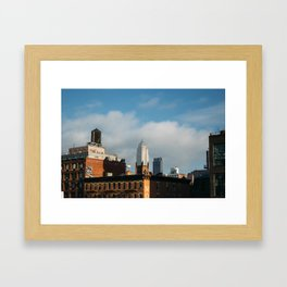 The Empire State Building from the Highline Framed Art Print