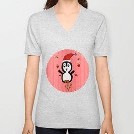 My Penguin   Christmas Spirit Unisex V-Neck