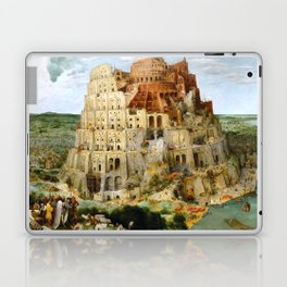 The Tower Of Babel Laptop & iPad Skin
