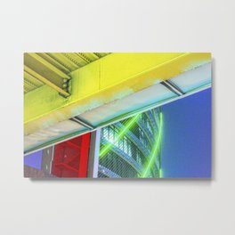 Arquitectura Metal Print