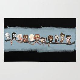 Doctor Hoo - Painted Version Rug