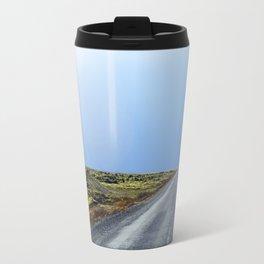 Green Lava Fields Travel Mug