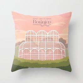 Curitiba - Jardim Botânico Throw Pillow