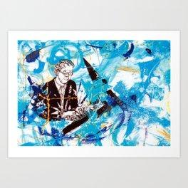 CHOPIN: Pollonaise Brilliante      by Kay Lipton Art Print