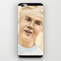 niall iPhone & iPod Skins featuring Niall by Sayrise