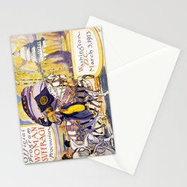 1913 Women's rights march Washington Stationery Cards