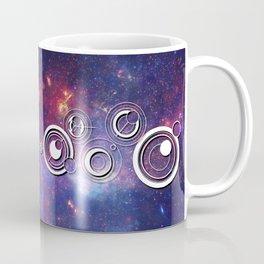 DOCTOR WHO TIMEY-WIMEY WITH THE MILKY WAY Coffee Mug