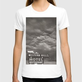 Western Hills- Black and White T-shirt