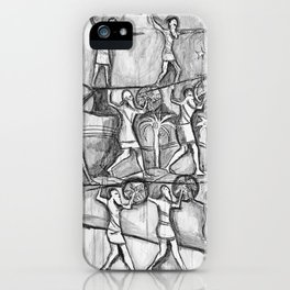 I Come in Peace iPhone Case