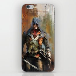 Portrait of Arno Dorian iPhone Skin