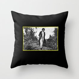 Beethoven Walk in nature Throw Pillow
