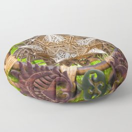 Earth Dragon Floor Pillow