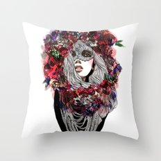 Mrs. Autumn Throw Pillow