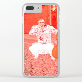 Squared:Music Business Clear iPhone Case