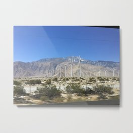 DESERT HOT SPRINGS Metal Print