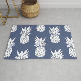 Pineapple Blues Rug
