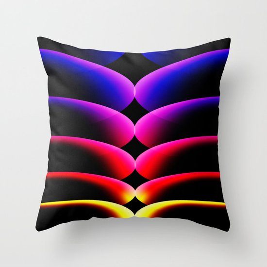 Abstract art 5 Throw Pillow