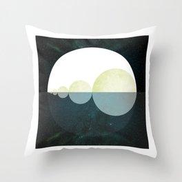 Nocturne Sequential Horizon Throw Pillow