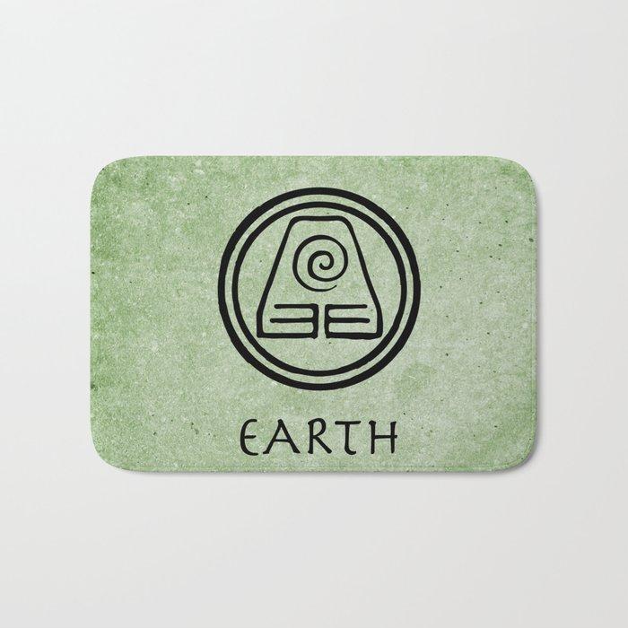 Avatar Last Airbender Elements Earth Bath Mat