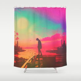 Emotive Sky Shower Curtain