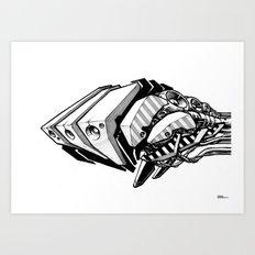 Machine object I Art Print