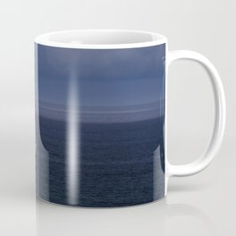 Yacht In A Storm Coffee Mug