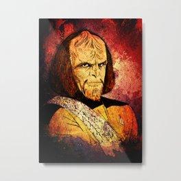 The Klingon  Metal Print