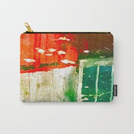 City Aflame and Drowning Carry-All Pouch