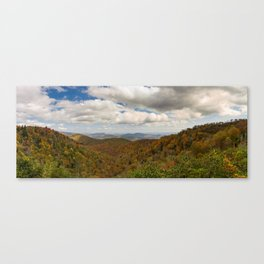 Graveyard Fields Canvas Print
