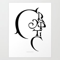 Cryptic Art Print