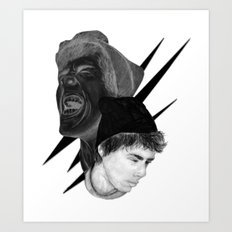 Scream Art Print