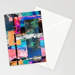 Abstraction - Abstract, textured layers Stationery Cards