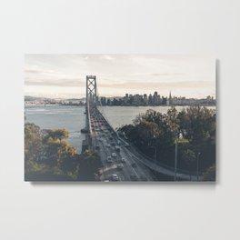 Bay Bridge - San Francisco, CA Metal Print